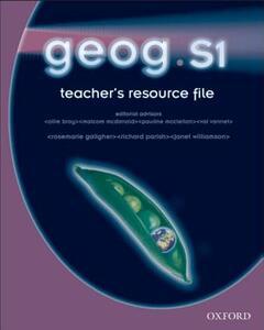 Geog.Scot: 1: Teacher's Resource File & CD-ROM - RoseMarie Gallagher - cover