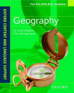 Oxford Content and Language Support: Geography - Anne Williams,Fran Montgomerie - cover