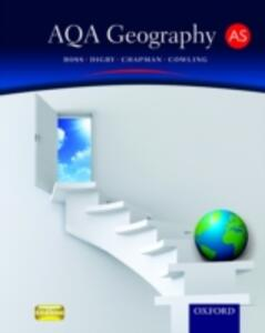 AQA Geography for AS Student Book - Simon Ross,Bob Digby,Russell Chapman - cover