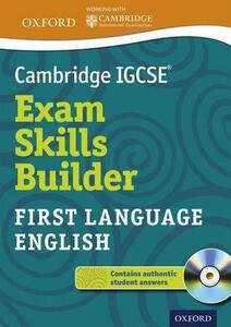 Cambridge IGCSE (R) Exam Skills Builder: First Language English - cover