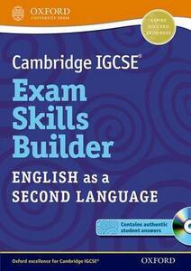 Cambridge IGCSE (R) Exam Skills Builder: English as a Second Language - cover
