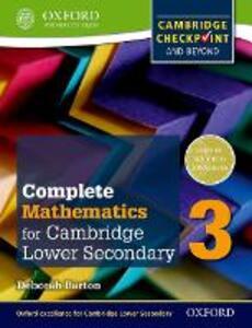 Complete mathematics for Cambridge IGCSE secondary 1. Checkpoint-Student's book. Per la Scuola media. Con espansione online - cover