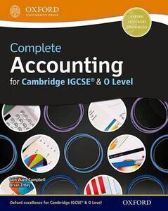 Complete accounting for Cambridge IGCSE. Student book. Per le Scuole superiori. Con espansione online - cover