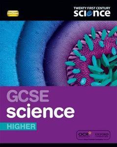 Twenty First Century Science: GCSE Science Higher Student Book - Ann Fullick,Andrew Hunt,Jacqueline Punter - cover