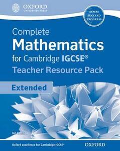 Complete Mathematics for Cambridge IGCSE Teacher's Resource Pack - Ian Bettison - cover
