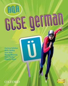 GCSE German for AQA Students' Book - Corinna Schicker - cover