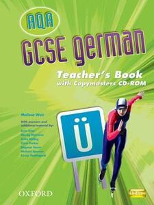 AQA GCSE German Teacher's Book and Copymasters CD-ROM - Melissa Weir - cover