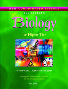 New Coordinated Science: Biology Students' Book: For Higher Tier - Brian Beckett,Rose Marie Gallagher - cover