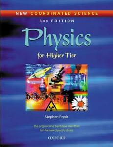 New Coordinated Science: Physics Students' Book: For Higher Tier - Stephen Pople - cover