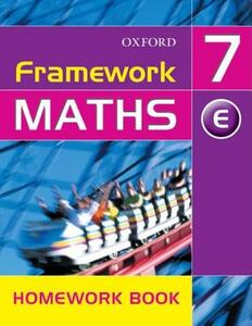 Framework Maths: Year 7: Framework Maths Yr 7 Extension Homework Book - David Capewell - cover