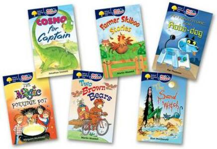 Oxford Reading Tree: All Stars: Pack 1: Pack (6 Books, 1 of Each Title) - Martin Waddell,Alan McDonald,Pat Thompson - cover