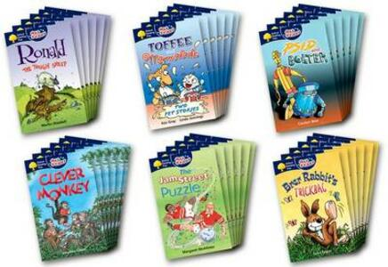 Oxford Reading Tree: All Stars: Pack 3: Class Pack (36 Books, 6 of Each Title) - Margaret McAllister - cover