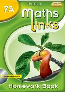 MathsLinks: 1: Y7 Homework Book A Pk of 15 - Ray Allan - cover