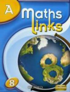 MathsLinks: 2: Y8 Students' Book A - Ray Allan,Nina Patel,Martin Williams - cover