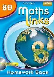 MathsLinks: 2: Y8 Homework Book B - Ray Allan - cover