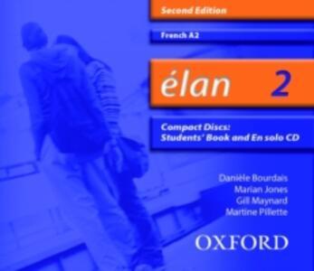 Elan: 2: A2 Audio CD - Daniele Bourdais,Marian Jones,Gill Maynard - cover