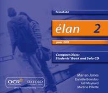 Elan: 2: Pour OCR A2 Audio CDs - Marian Jones,Gill Maynard,Caroline Terree - cover