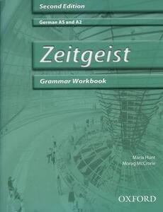 Zeitgeist: Grammar Workbook & CD - Morag McCrorie,Maria Hunt - cover