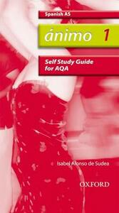 Animo: 1: AS AQA Self-Study Guide with CD-ROM - cover