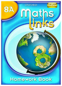 MathsLinks: 2: Y8 Homework Book A Pack of 15 - Ray Allan - cover