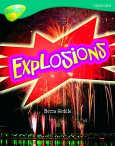 Oxford Reading Tree: Level 16: TreeTops Non-Fiction: Explosions - Becca Heddle - cover