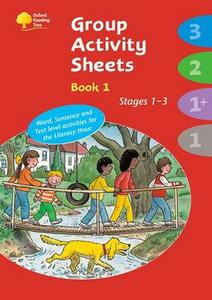 Oxford Reading Tree: Stages 1 - 3: Book 1: Group Activity Sheets - Thelma Page,Kay Su - cover