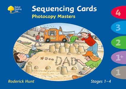 Oxford Reading Tree: Levels 1- 4: Sequencing Cards Photocopy Masters - Roderick Hunt,Carol Meehan - cover