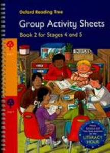 Oxford Reading Tree: Stages 4-5: Book 2: Group Activity Sheets - Thelma Page,Kay Su - cover