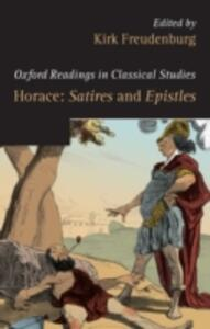 Horace: Satires and Epistles - cover
