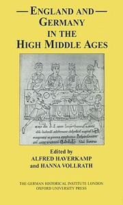 England and Germany in the High Middle Ages - cover