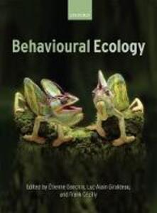 Behavioural Ecology - cover