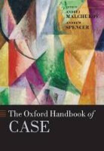 The Oxford Handbook of Case - cover