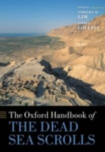 The Oxford Handbook of the Dead Sea Scrolls - cover