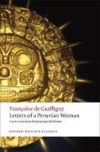 Letters of a Peruvian Woman - Francoise de Graffigny - cover