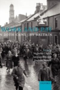 Work and Pay in 20th Century Britain - cover