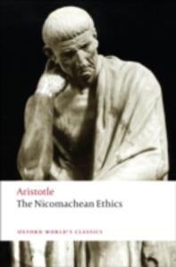 The Nicomachean Ethics - Aristotle - cover