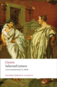 Selected Letters - Marcus Tullius Cicero - cover