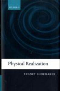 Physical Realization - Sydney Shoemaker - cover