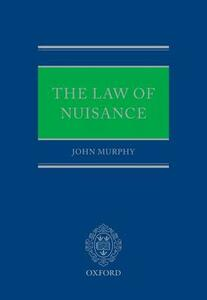 The Law of Nuisance - John Murphy - cover