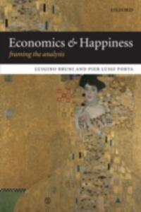 Economics and Happiness: Framing the Analysis - cover