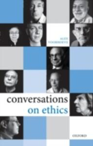 Conversations on Ethics - Alex Voorhoeve - cover