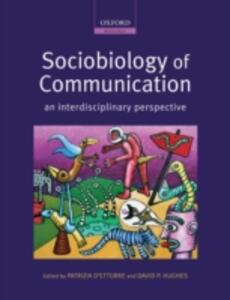 Sociobiology of Communication: an interdisciplinary perspective - cover