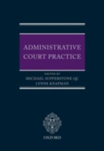 Administrative Court Practice - cover