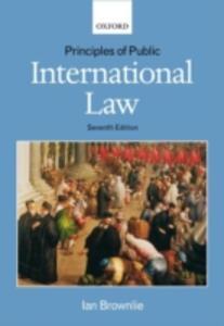 Principles of Public International Law - Ian Brownlie - cover