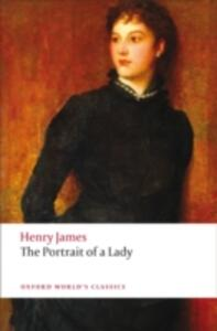 The Portrait of a Lady - Henry James - cover