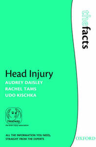 Head Injury - Audrey Daisley,Rachel Tams,Udo Kischka - cover