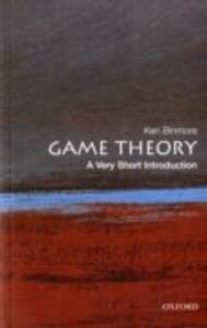 Game Theory: A Very Short Introduction - Ken Binmore - cover