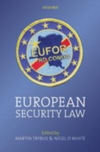 European Security Law - cover