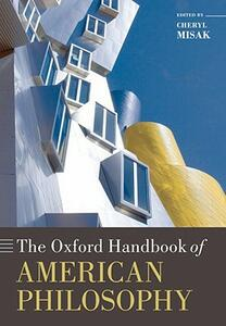 The Oxford Handbook of American Philosophy - cover