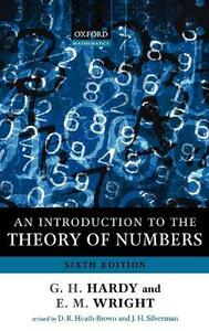 An Introduction to the Theory of Numbers - Godfrey H. Hardy,Edward M. Wright - cover